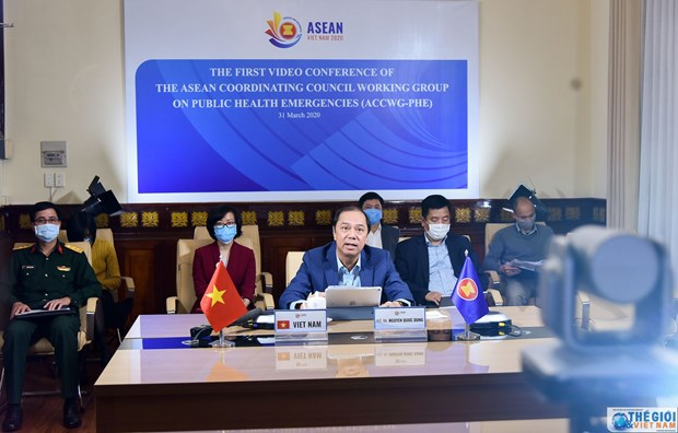 ASEAN discusses response to public health emergencies hinh anh 1