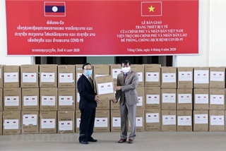 Vietnam-donated medical equipment handed over to Laos