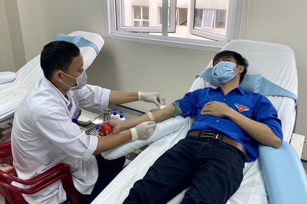 Blood donation in dire need hinh anh 1