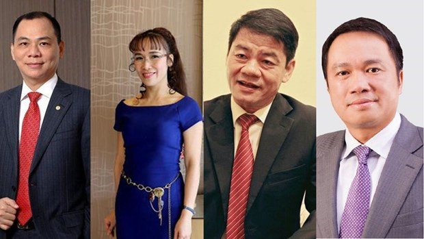 Four Vietnamese billionaires named in Forbes 2020 rich list hinh anh 1