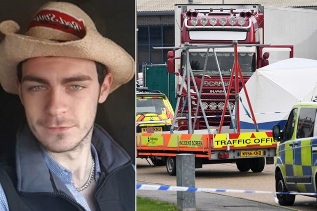 Essex lorry incident: Driver Maurice Robinson pleads guilty hinh anh 1
