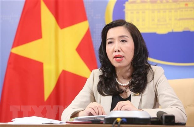 Foreign Ministry spokeswoman speaks about support for Vietnamese abroad to return home hinh anh 1