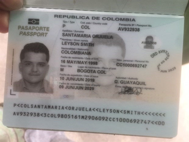 Colombian man caught after fleeing quarantine facility in Hoi An hinh anh 1