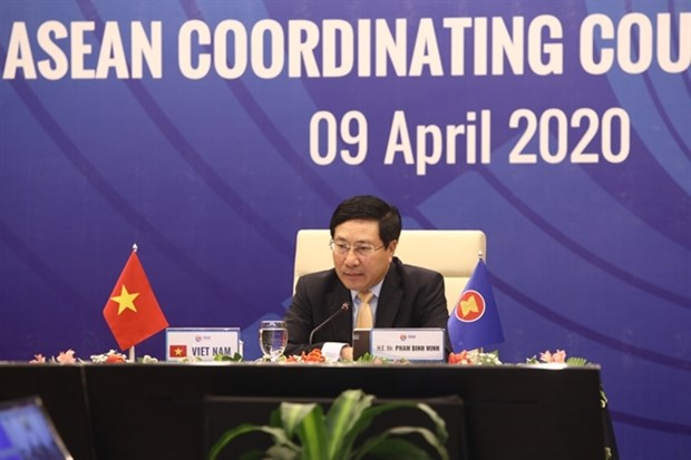 Solidarity is strength in ASEAN cooperation to fight COVID-19: Deputy PM hinh anh 1