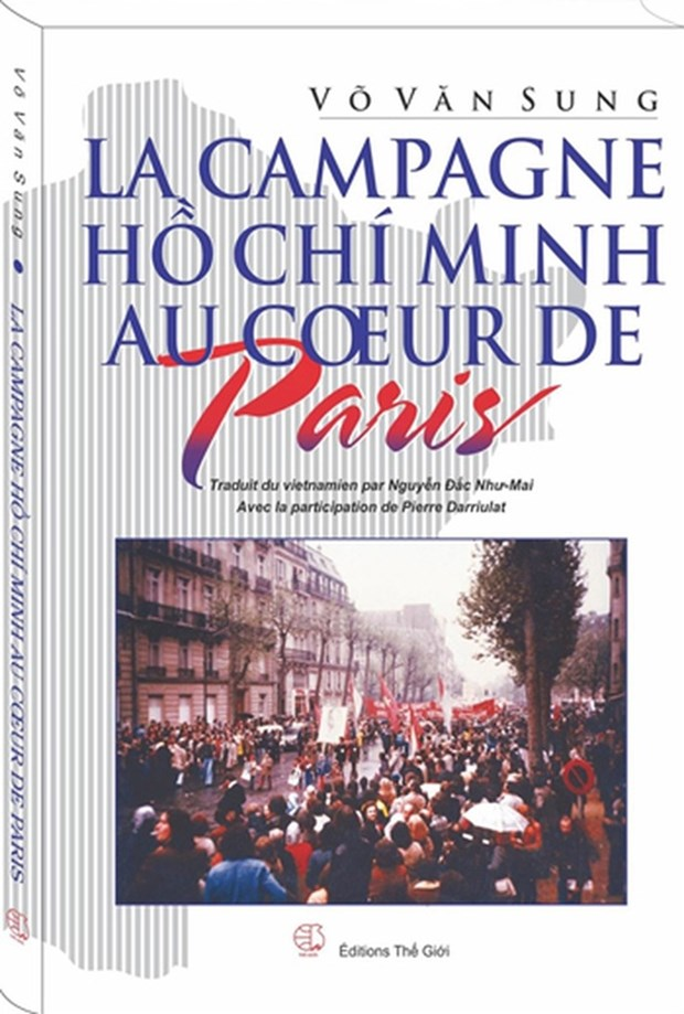 Book on diplomatic wins in the 1975 Spring Offensive released in French hinh anh 1