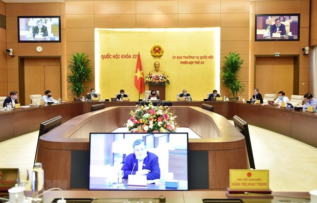 NA Standing Committee's 44th session to open on April 20 hinh anh 1