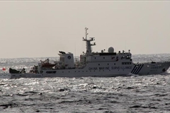Japan concerned over China's establishment of districts in East Sea