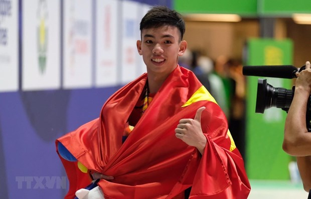 Young talent swimming towards Olympic dreams hinh anh 1