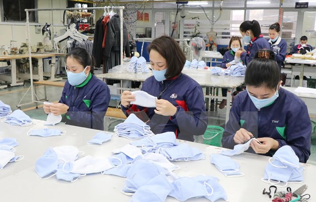 Pandemic-hit garment producers find way to weather crisis hinh anh 1
