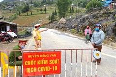 Lockdown order in Dong Van township, Ta Kha hamlet lifted