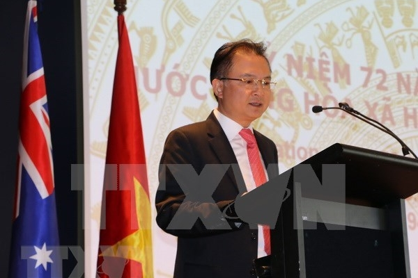 Ambassador urges Vietnamese students in Australia to stay united amid COVID-19