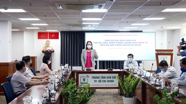 HCM City launches app to assess COVID-19 transmission risks hinh anh 1