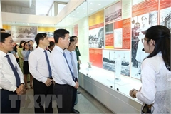 Exhibition on President Ho Chi Minh opens in Hanoi