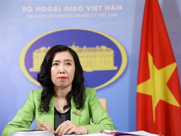 Vietnam urges parties to not take action to further complicate situation in East Sea hinh anh 1