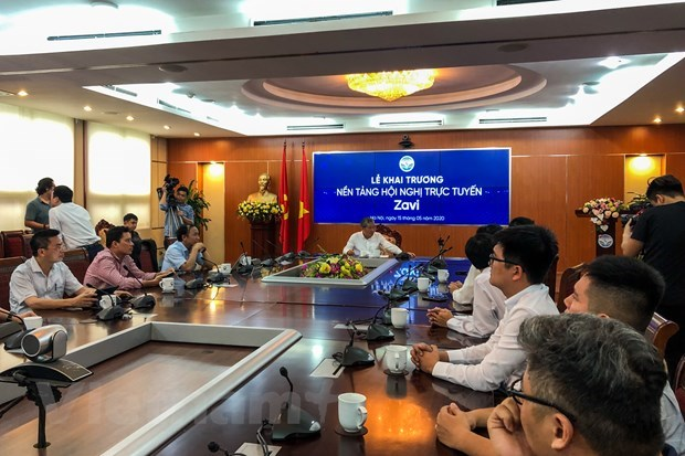 First local online meeting platform launched hinh anh 1
