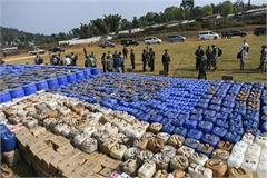 Myanmar seizes Southeast Asia's biggest synthetic drugs