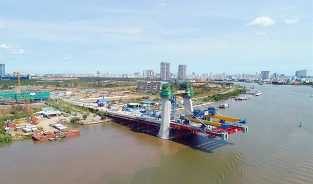 HCM City: Thu Thiem 2 bridge to open to traffic by late 2020 hinh anh 1