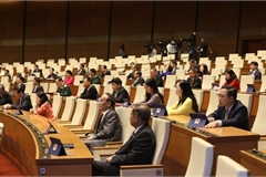 First working day of 14th National Assembly's ninth session