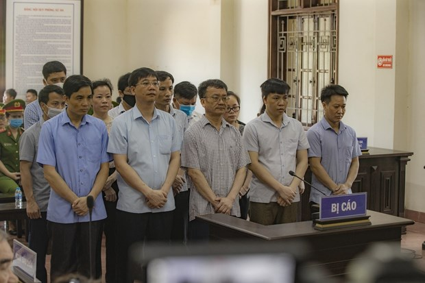 Court sentences 15 in exam cheating scandal in Hoa Binh hinh anh 1