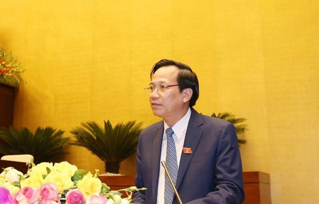 Draft law on Vietnamese guest workers debated at NA hinh anh 1