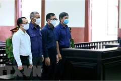 Court upholds sentences for ex-officials of HCM City