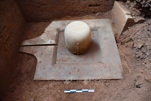 Ninth-century Shiv Linga unearthed at My Son Sanctuary hinh anh 1