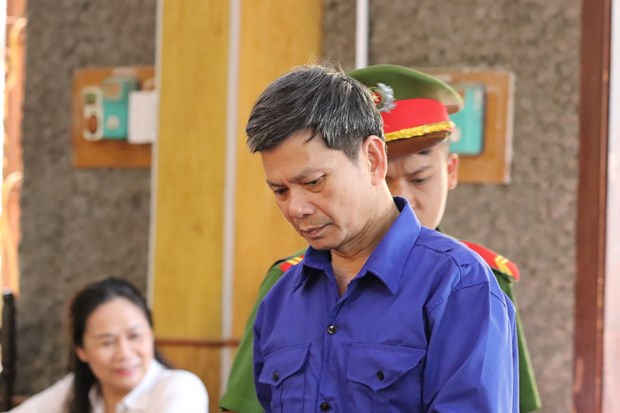 Son La court sentences defendants in exam scandal hinh anh 1