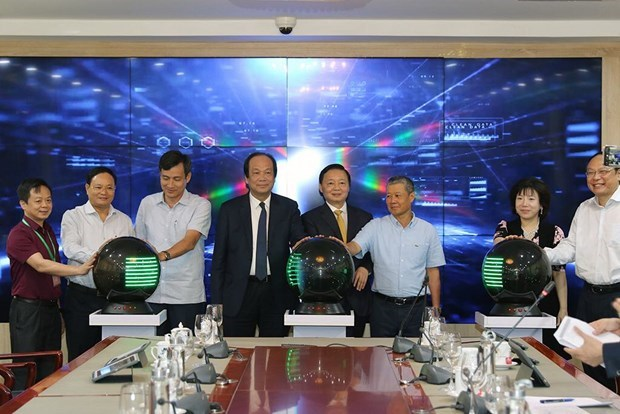 Environment ministry launches smart operating centre hinh anh 1
