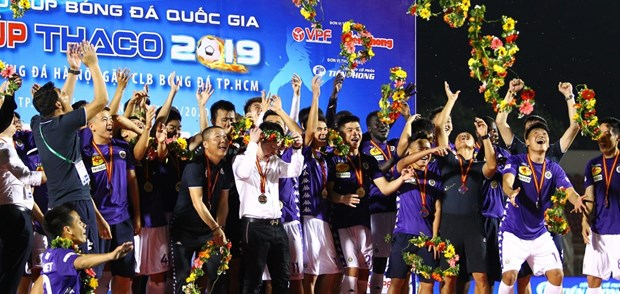 AFC praises 2020 V.League ahead of resumption hinh anh 1