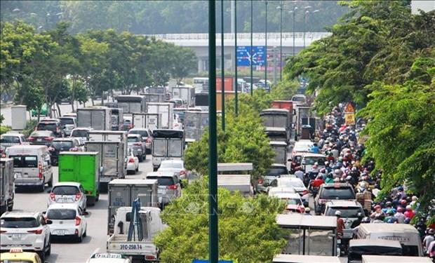 HCM City's transport infrastructure lags behind demand despite huge investment
