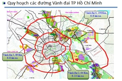 HCM City calls on transport ministry to speed up work on two ring roads