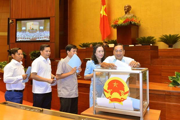 NA approves chairpersons, members of National Election Council hinh anh 1