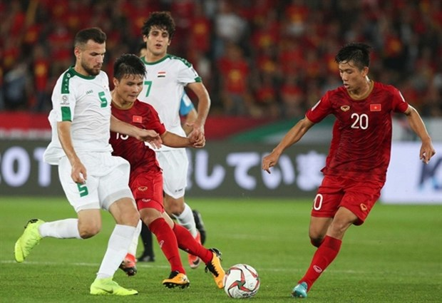 Vietnam invited to play in World Cup preparation match against Iraq hinh anh 1