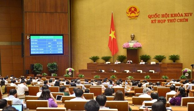 Legislature adopts resolution on reducing corporate income tax hinh anh 1