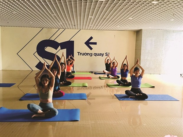 Yoga to be celebrated across nation hinh anh 1