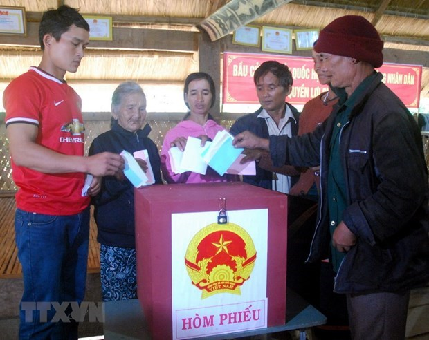 Politburo directive on leadership of election of deputies to NA, People's Councils hinh anh 1