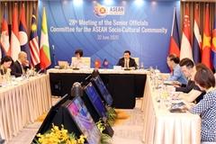 Senior officials for ASEAN Socio-Cultural Community meet online
