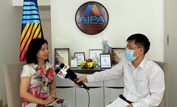 AIPA ready to join hands with ASEAN to build sustainable community hinh anh 1