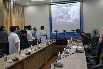 UNDP presents robots help protect frontline health workers