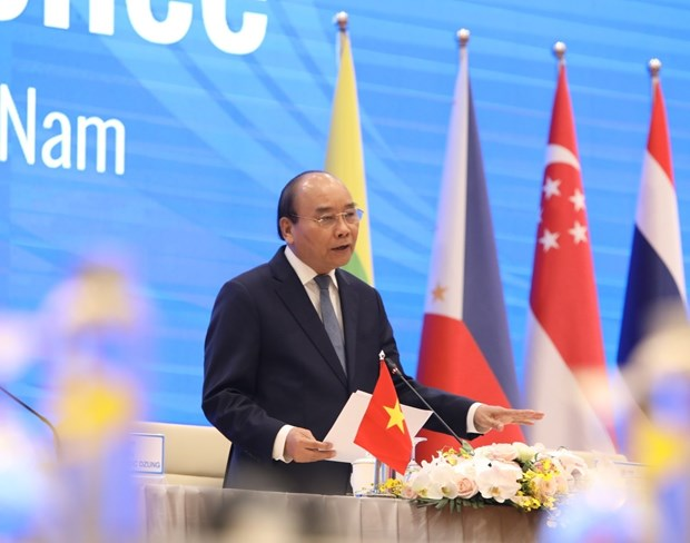 COVID-19 high on agenda at 36th ASEAN Summit: foreign media hinh anh 1