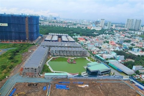 HCM City's housing industry faces difficulties hinh anh 1