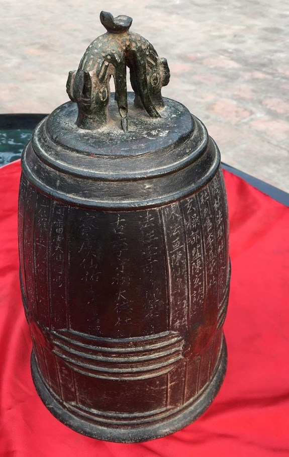 Hanoi's millennium-old bell named national treasure hinh anh 1