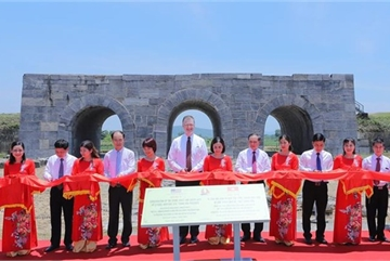 US-funded conservation project of Ho Dynasty Citadel completed