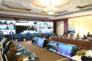 ASEAN Defence Senior Officials' Meeting Plus Working Group held video conference