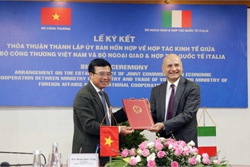 New Joint Commission on Vietnam-Italy Economic Cooperation formed