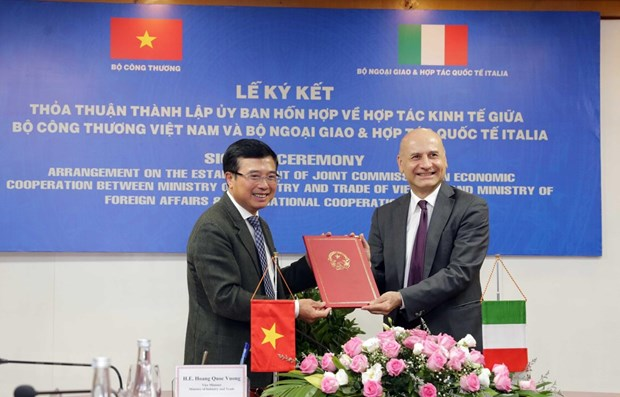 New Joint Commission on Vietnam-Italy Economic Cooperation formed hinh anh 1