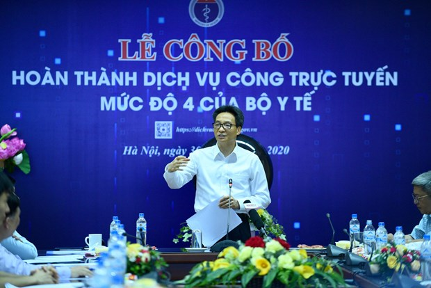 All health administrative procedures now at online public services level 4 hinh anh 1