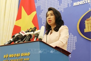 Vietnam objects to China's military drills in Hoang Sa