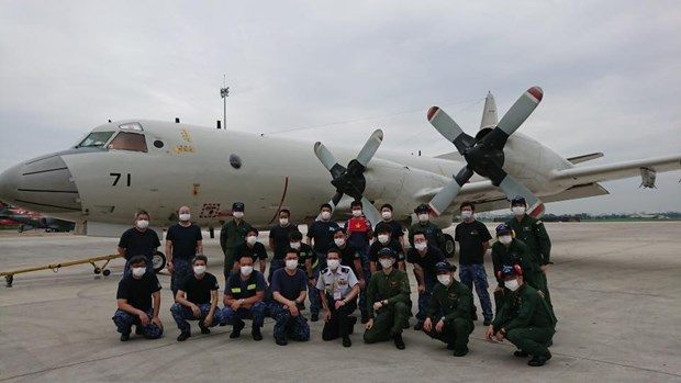 Japan thanks Vietnam for assisting military aircraft in trouble hinh anh 1