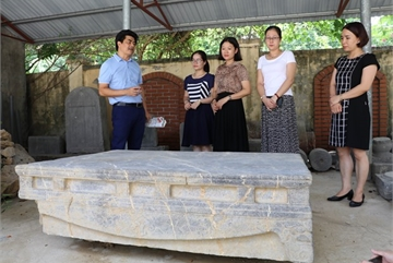 Ancient rock bed found in Ninh Binh province